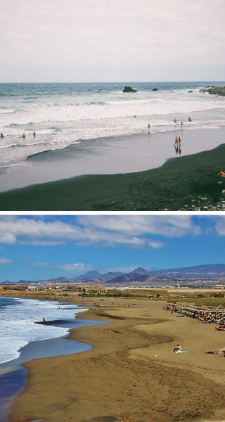 Пляжи Альмасиго и Ла-Техита