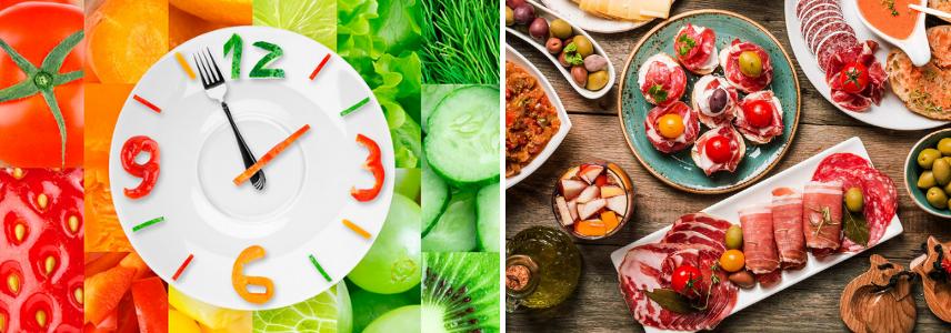 Различия в питании