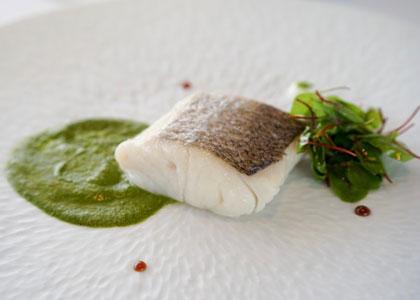 Рыбное блюдо из Taberna el Zorzal