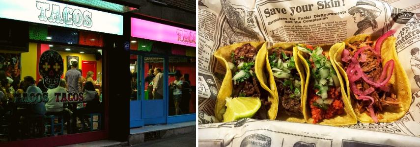 Tacos Tacos, бланес где вкусно поесть