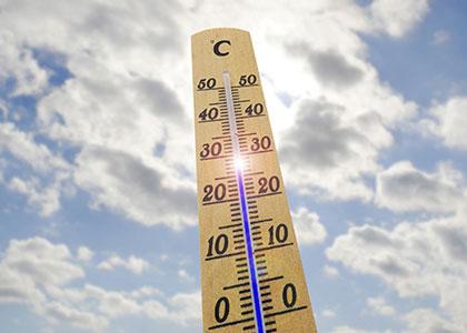 Температура воздуха в Барселоне