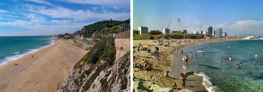 Дикие пляжи Барселоны