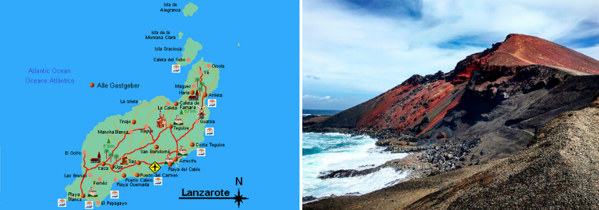 Вулканический Лансароте