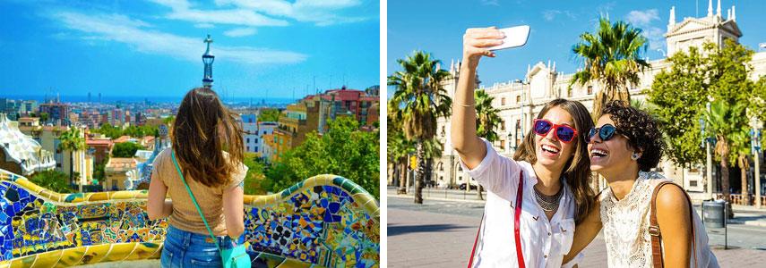 Высокий туристический сезон в Барселоне