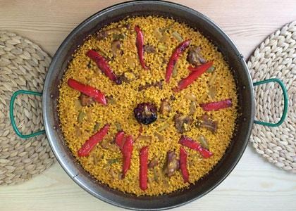 блюдо из Allioli Valencian Food