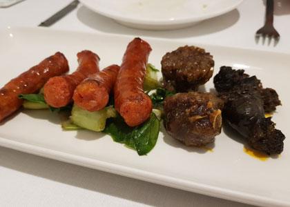 блюдо из ресторана Askua