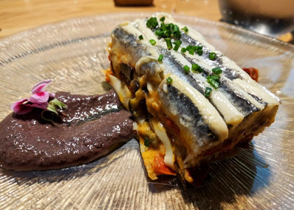 блюдо из ресторана Bodegón Alejandro