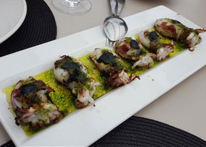 блюдо из ресторана Casa Carmela