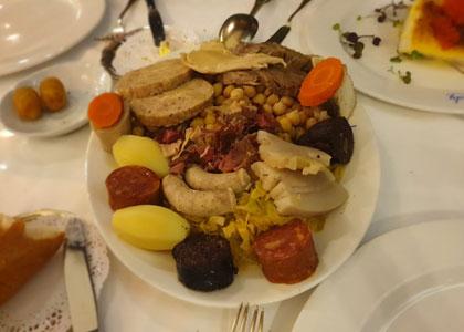 блюдо из ресторана Lhardy