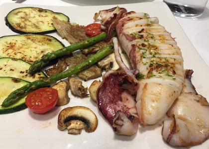блюдо из ресторана Rausell