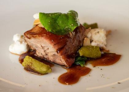 блюдо из ресторана Ricard Camarena