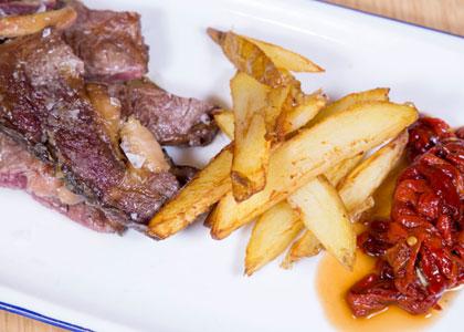 блюдо из ресторана Trinquet Pelayo