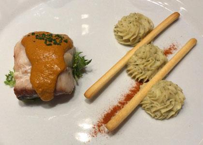 блюдо из ресторана Turangalila