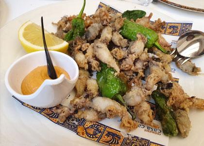 блюдо ресторана Casa Carmela