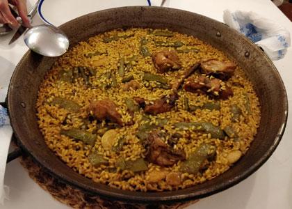блюдо ресторана Casa Carmina
