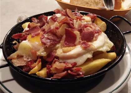 блюдо ресторана Taberna Antonio Sanchez