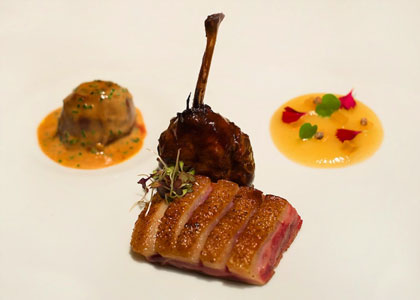 блюдо в Sergi Arola Gastro