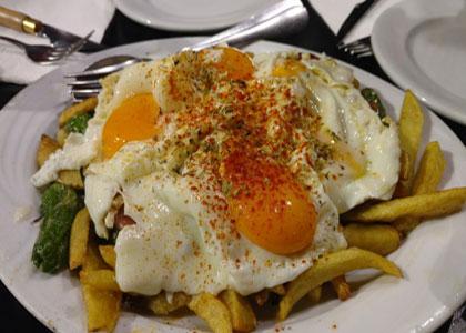 блюдо в Taberna Malaspina