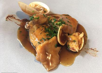 блюдо в ресторане Alabaster