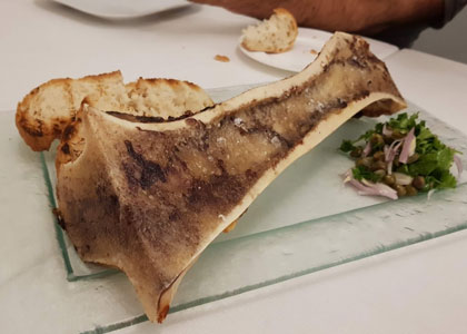блюдо в ресторане Askua