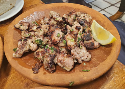 блюдо в ресторане Casa Toni