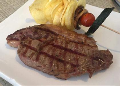блюдо в ресторане La Fitorra