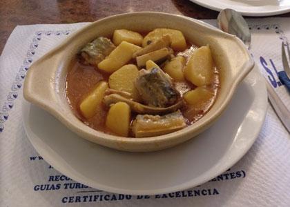 блюдо в ресторане Lonja del Pescado