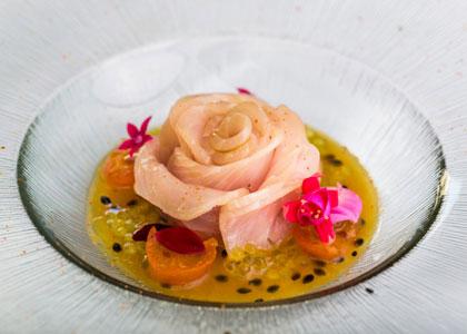 блюдо в ресторане Q'tomas