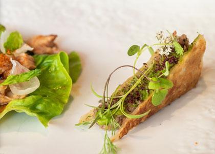 блюдо в ресторане Ricard Camarena