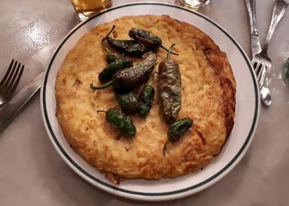 блюдо в ресторане Taberna Antonio Sanchez