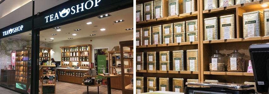 чайный бутик Tea Shop