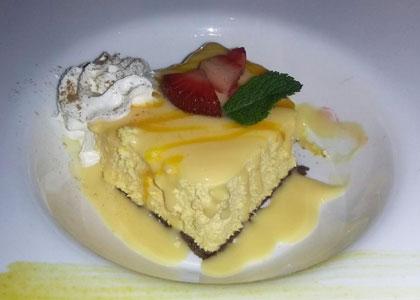 десерт из ресторана Turangalila