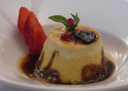десерт ресторана Casa Carmela