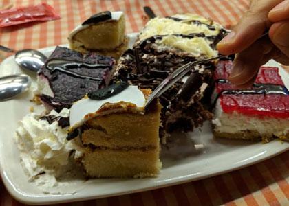 десерт в L'Europe
