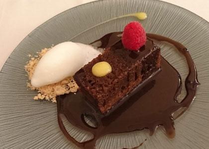 десерт в Taberna el Zorzal
