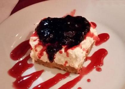 десерт в ресторане María Mandiles