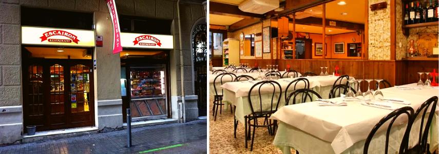Ресторан испанской кухни Escairón.