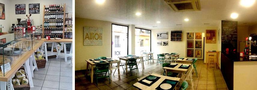 кофейня Allioli Valencian Food