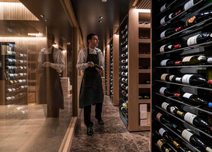 коллекция вин в Akelarre