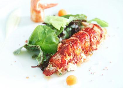 морепродукты ресторана Zalacain