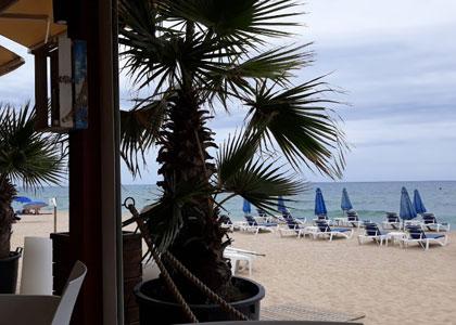 нудистский пляж La Musclera