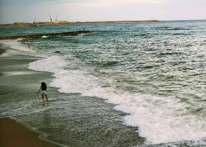 нудистский пляж Playa Aiguadolç