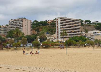 нудистский пляж la Picordia