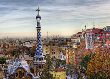 осенью в Барселоне
