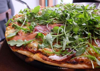 пицца в Tinto y Tapas