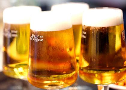 пиво в кафе Comic