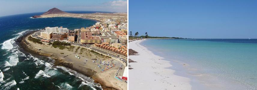 Пляж Эль Медано и Хонда