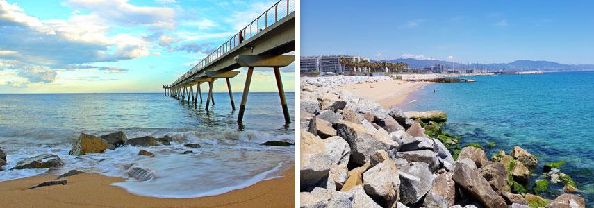 пляж Platja de la Mora – Badalona