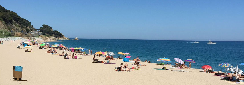 пляж Roques Blanques