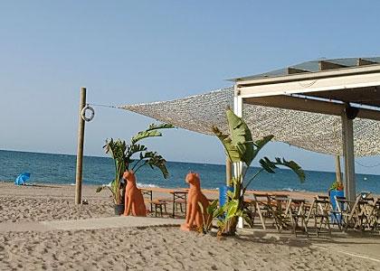 пляж для нудистов El Prat de Llobregat